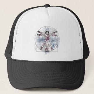 U.V MAN(Universal Vitruvian Man) Trucker Hat