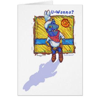 U-Wanna Tijuana Iguana®! Card