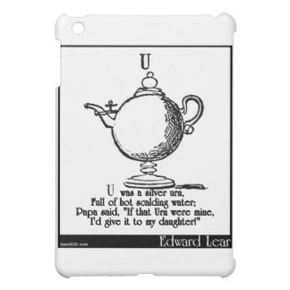 U was a silver urn case for the iPad mini
