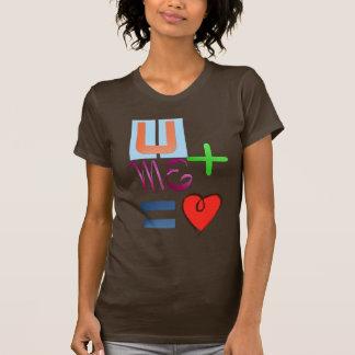 U + Yo = camiseta del amor