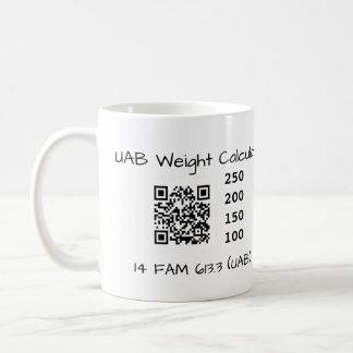 UAB Weight Calculator Coffee Mug