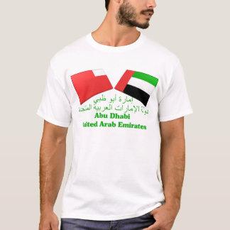 UAE & Abu Dhabi Flag Tiles T-Shirt