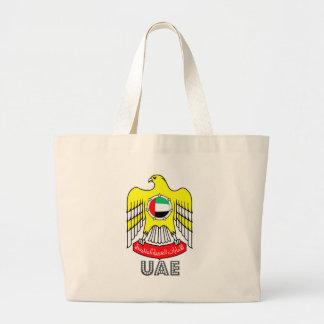 Uae Coat of Arms Jumbo Tote Bag