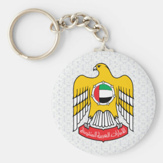 Uae Coat of Arms detail Keychain