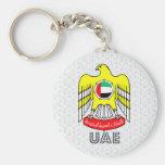Uae Coat of Arms Key Chain