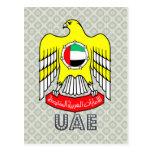 Uae Coat of Arms Postcard