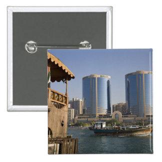 UAE, Dubai, Dubai Creek. Dhow cruises channel Pin