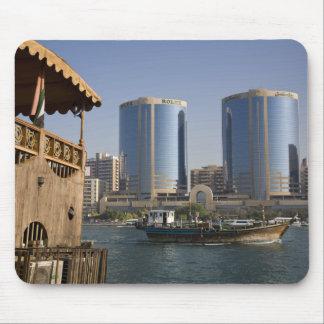 UAE, Dubai, Dubai Creek. Dhow cruises channel Mouse Pad