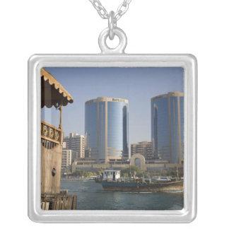 UAE, Dubai, Dubai Creek. Dhow cruises channel Jewelry