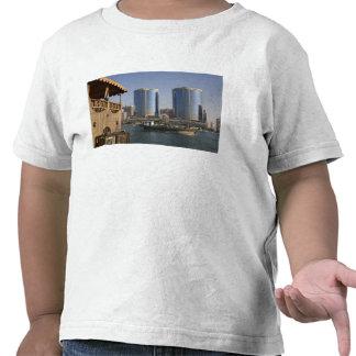 UAE, Dubai, Dubai Creek. Dhow cruises channel Tee Shirt