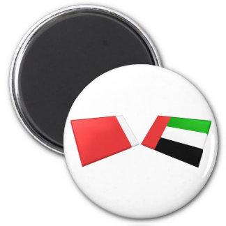UAE Dubai Flag Tiles Refrigerator Magnet