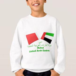 UAE & Dubai Flag Tiles Sweatshirt