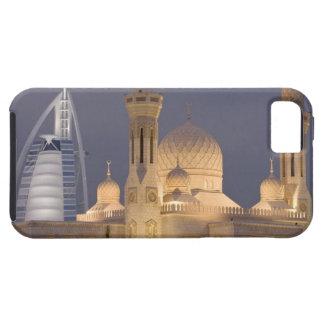 UAE, Dubai. Mezquita por la tarde con el árabe del iPhone 5 Case-Mate Carcasa