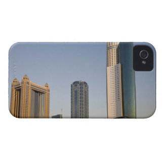 UAE, Dubai. Park Place Tower and other iPhone 4 Case