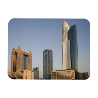 UAE, Dubai. Park Place Tower and other Vinyl Magnet