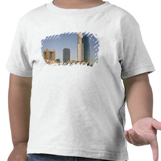 UAE, Dubai. Park Place Tower and other Tee Shirts