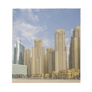 UAE, Dubai, puerto deportivo. Residencia de la pla Blocs