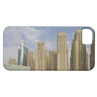 UAE, Dubai, puerto deportivo. Residencia de la pla iPhone 5 Case-Mate Cárcasa