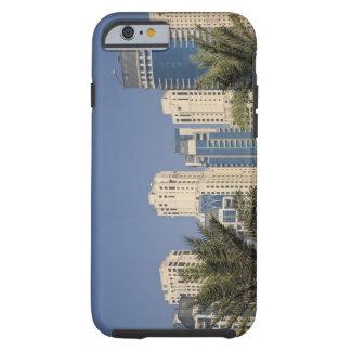 UAE, Dubai. Torres de la residencia de la playa de Funda De iPhone 6 Tough