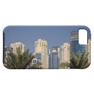 UAE, Dubai. Torres de la residencia de la playa de iPhone 5 Case-Mate Carcasa