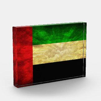 UAE Flag Acrylic Award