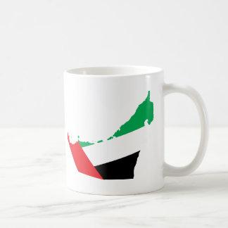 Uae flag map mugs