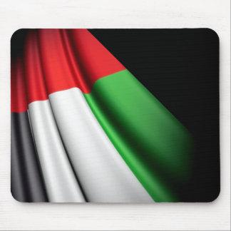 UAE flag mouse pad