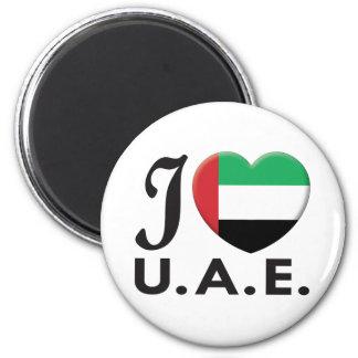 UAE Love Refrigerator Magnets