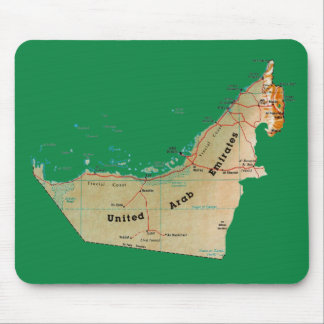 UAE Map Mousepad