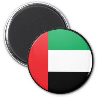 Uae quality Flag Circle Magnets