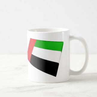 UAE & Sharjah Flag Tiles Mugs