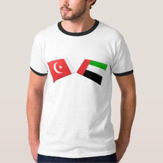 UAE & Umm al-Quwain Flag Tiles Dresses