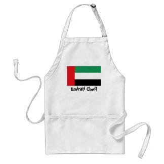 UAE United Arab Emirates flag chef apron