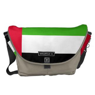 UAE United Arab Emirates Flag Messenger Bag