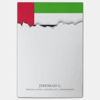 UAE United Arab Emirates Flag Post-it Notes
