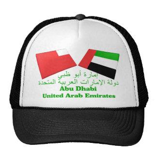 UAE y tejas de la bandera de Abu Dhabi Gorros Bordados
