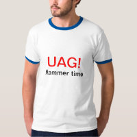 UAG (STOP) Hammer time - biology codon Tees