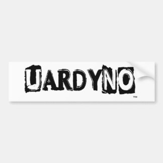 UARDYNO-8.PNG BUMPER STICKER