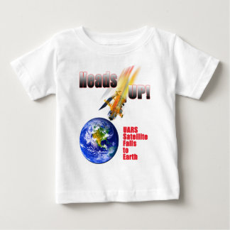 UARS Satellite Falls to Earth Baby T-Shirt