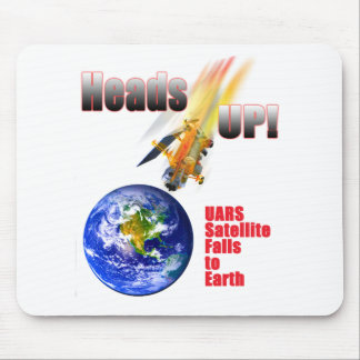 UARS Satellite Falls to Earth Mouse Pad