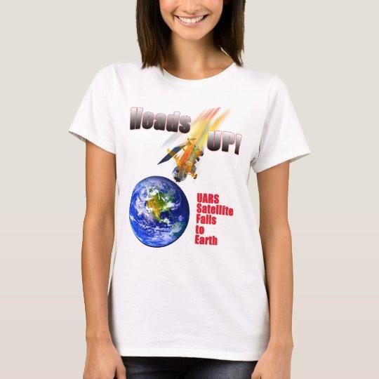 UARS Satellite Falls to Earth T-Shirt