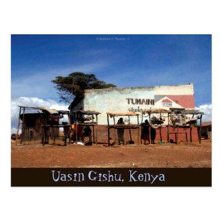 Uasin Gishu Kenya Postcard