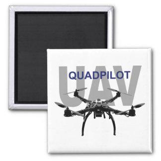 UAV Quadpilot Quadcopter Pilot 2 Inch Square Magnet
