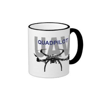 UAV Quadpilot Quadcopter Pilot Ringer Coffee Mug