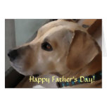 UB- Cute Pup Father's Day Card