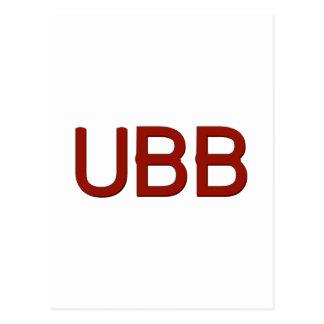 UBB Swag Postcard