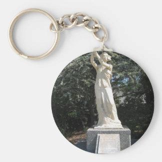 UBC_Goddess_of_Democracy_statue_2009 Keychain