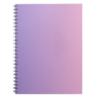 Ube to Cotton Candy Vertical Gradient Journals