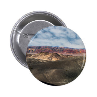 Ubehebe Crater Death Valley Pinback Button