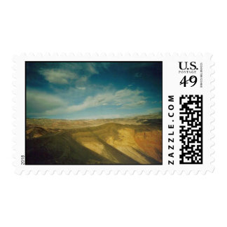 Ubehebe Crater-Death Valley Postage Stamp